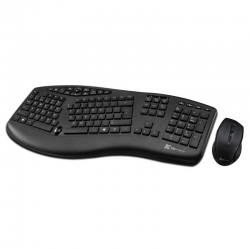 Combo Teclado Mouse Klip Xtreme KBK-500 Ergono