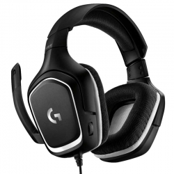 Headset Gaming Logitech G332 Cableado 3.5mm Negro