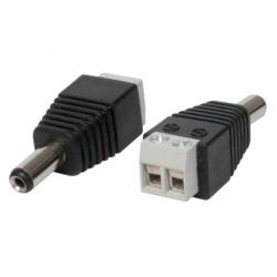 Conector Eléctrico ESS C022 Macho De Tornillo
