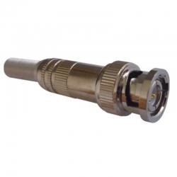 Conector ESS C025 De Soldar Macho Rg59 Resorte