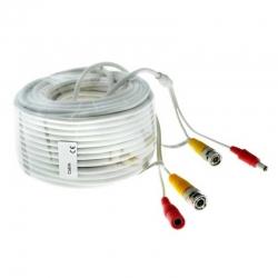 Cable Siames ESS DEXT-1080 Armado 30m BNC y DC
