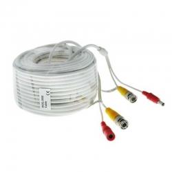 Cable Siames ESS DEXT-3020 Armado 20m BNC y DC