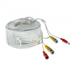 Cable Siames ESS DEXT-5030 para 720p 30m BNC y DC