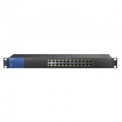 Switch Linksys LGS124P 24P, 12P PoE Gigabit Capa 2