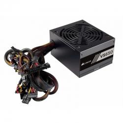 Fuente de Poder PC Corsair VS650 650Watt 80 Plus