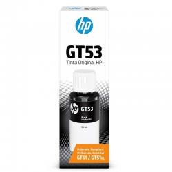 Botella de Tinta HP GT53 Original Negro 90ml