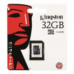 Memoria mSD Kingston SDC4/16GBPS SDHC Cl4 32GB