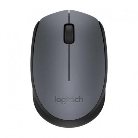 Mouse Logitech M170 Inalámbrico 3 Botones Gris
