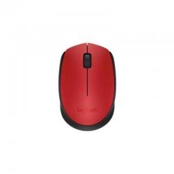 Mouse Logitech M170 Inalámbrico 3 Botones Rojo
