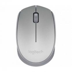 Mouse Logitech M170 Inalámbrico 3 Botones Plata
