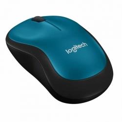Mouse Logitech M185 Inalámbrico 3 Botones Azul