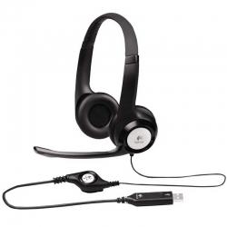 Headset Gaming Logitech H390 USB-A Estéreo Negro
