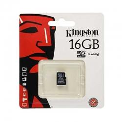 Memoria mSD Kingston SDC4/16GBPS SDHC Cl4 16GB