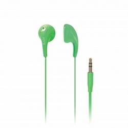 Audífonos iLuv IEP205BLK Bubble Gum 2 Verdes 3.5mm