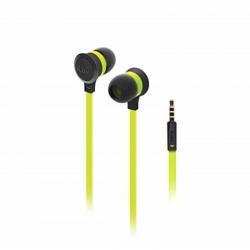 Audífonos iLuv Neon Sound Stéreo Verdes 3.5mm