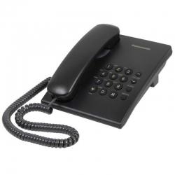 Teléfono Digital Panasonic TS500 Alámbrico Negro