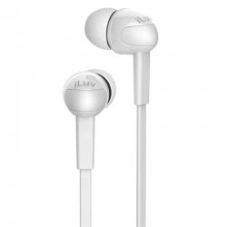 Audífonos iLuv Peppermint Estéreo Blancos 3.5mm