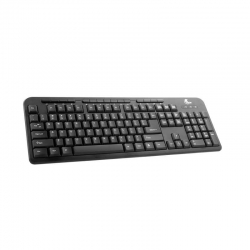 Teclado Xtech XTK-130E Cableado USB Inglés Negro