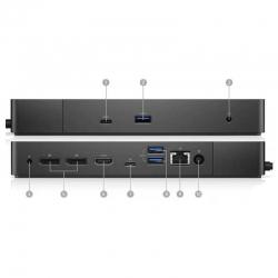 Docking Estation Dell WD19 130W USB-C USB-A LAN