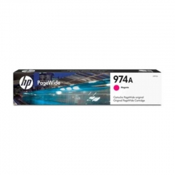 Cartucho Tinta HP PageWide 974A Magenta Original