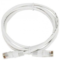 Patch Cord Genérico CQN-21F02W Cat5E 60cm Blanco