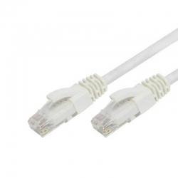 Patch Cord Genérico CQN6-01F25W Cat6 7.6m Blanco
