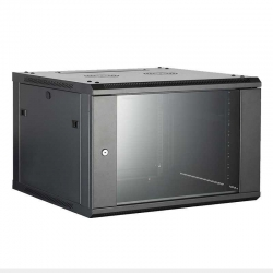 Gabinete de Pared Iflux FD-WM-H-6W6D4 6U Abatible