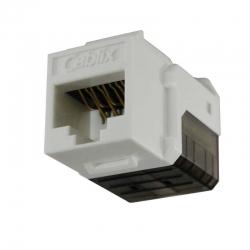 Conector Genérico CQN6A-03W Cat6 110 UL Blanco