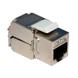 Conector Genérico CQN6AS-04 Cat6 110 UL Blindado