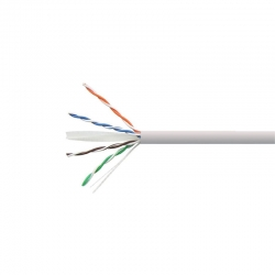 Carrucha de Cable Teklink UTP 305m UL Cat6 Gris