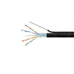 Cable UTP Teklink Cat6 Exterior 305m Guía Negro