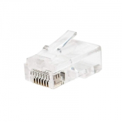 Pack Conector Tecklink MP-8P8C-6 RJ-45 Cat6 100u