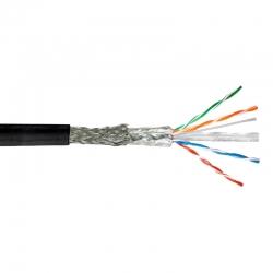 Cable UTP Teklink Cat6 Exterior 305m Blindad Negro