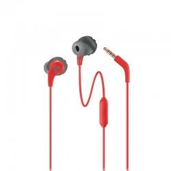 Audífonos alámbricos JBL Endurance Run 3.5mm Rojo