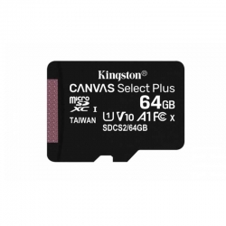 Tarjeta Micro SD Kingston Canvas Select Plus 64GB