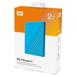 Disco Externo Western Digital My Passport 2TB Azul