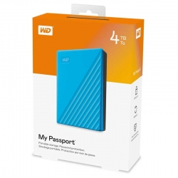 Disco Externo Western Digital My Passport 4TB Azul