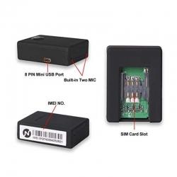 Micrófono Spy GSM Llamada Reproducción en Vivo