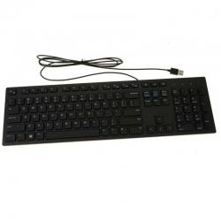 Teclado Alámbrico Dell KB216 USB 2.0 Inglés Negro