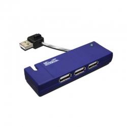 Hub USB Klip Xtreme KUH-400A Hub 4 Puertos USB 2.0