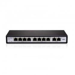 Switch Provision PoES-08120C+2 8P MegaE PoE 120W
