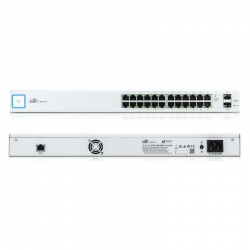Switch Ubiquiti US-24 2 SFP 24P GigaE Capa 3 1U