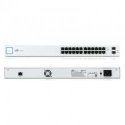 Switch Ubiquiti US-24 2 SFP 24P GigaE Capa 3 1U