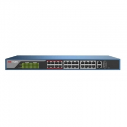 Switch Hikvision DS-3E1326P-E Capa 3 24P PoE 2 SFP