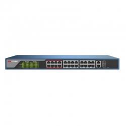 Switch Hikvision DS-3E1326P-E Capa 3 24P PoE 2 SFP