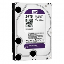 Disco Duro Western Digital Purple 2TB 5400rpm 64MB