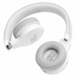Audífonos JBL LIVE 400BT diadema Bluetooth blanco