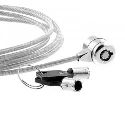 Xtech XTA-11 Cable de bloqueo pc con llave 1.8m