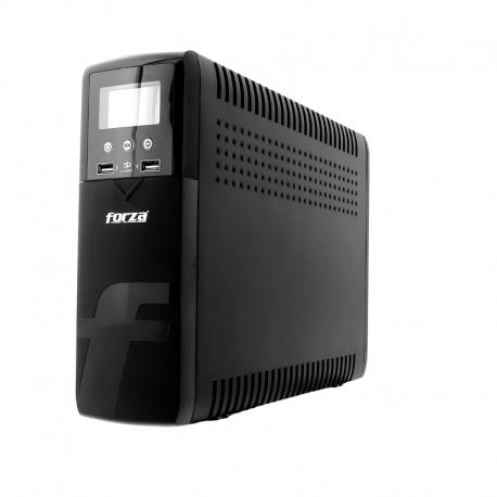 Batería de Oficina Forza 720W 1200VA AC 110/120V