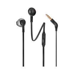 Audífonos alámbricos JBL T205 cableado 35 mm-negro